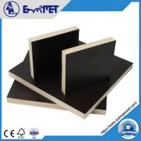 1220*2440*18MM Black/ Brown Poplar Core Film Faced Plywood with Melamine Glue from Direct Manufacture