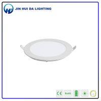 round shape good luminance AC85-265V led panel light 18w
