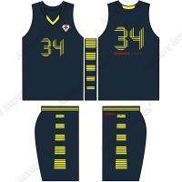 Custom Made Basketball Uniforms