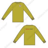 Custom Made Long Sleeve And Short Sleeve T- Shirts