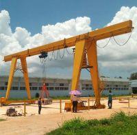 3 ton to 16 ton MH Model Box Type Electric Hoist Single Girder Gantry Crane Price