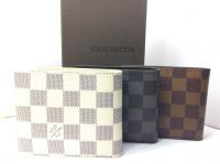 Louis Vuitton leather wallets