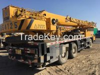 CHEAP Used XCMG truck crane QY50K for sale