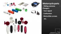 motorcycle parts; bike parts