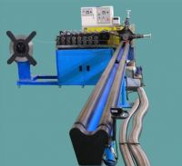 Exhaust/ Interlock Flexible Metal Hose Making Machine
