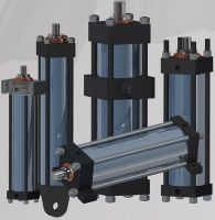 .Four rods oil cylinder