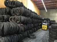 BALED TIRES