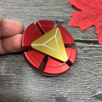 Super Hero Iron Man Metal Zinc Alloy High Speed Spinner for Stress Anxiety Focus ADHD, Red (FS-005-RD)