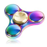 New Version Fidget Spinner Toy Durable Stainless Steel Bearing High Speed 3-5 Min Spins Tri-spinner Precision Colorful Metal Hand Spinners Toy with 1 Screwdriver & 1 Extra Bearing