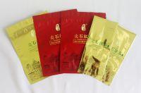 Tea packaging reclosable zipper pouch