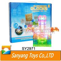 intelligence Building Blocks science set for kids educational toys