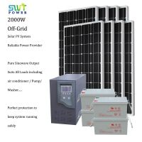 2kw off grid solar power system home