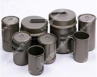 Titanium Pot, Titanium Spork,Titanium Bowl, Titanium Pan, Titanium Tent Pegs,