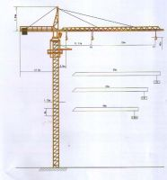 sell Tower crane FS5510