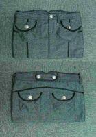 Ladies' Herringbone Mini Skirt