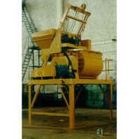 Double Shafts Concrete Mixer