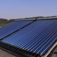 solar vacuum tube collector heatpipe (solar keymark certificate)
