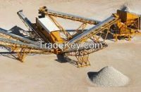 Crushing - Screening Plant Equipments and Spare Parts