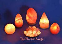 Himalayan rock salt crystal natural lamp