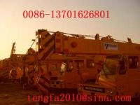 supply used hanging harbor, crawler cranes, hoists terminals and  othe