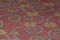 22,000 Sq Yards Of Rose Colored Pattern Carpet