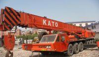 sell used 80ton truck crane kato crane