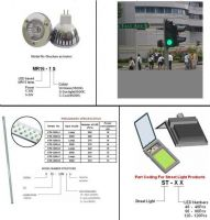 MR16 LED Spotlight, LED Street Light, LED T8, Traffic Light
