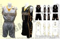 Tiger Basketball Uniform