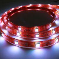 LED Strip Light, maade of SMD5050 or 3528 LED. Flexible or Hard Design