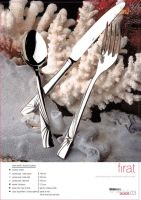 Firat Stainless Steel Flatware Model.