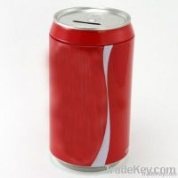 Coke Can Tin Money Box