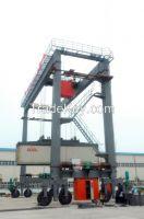 Heavy Duty Double Girder Container Gantry Cranes