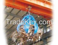 QZ type 5-20 ton grab crane double girder crane