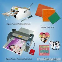 Jigsaw Puzzle Making  Machine