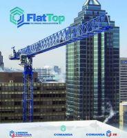 Tower Crane , Comansa Jie Flat-top Tower Crane