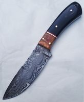 Handmade Damascus Hunting Knife