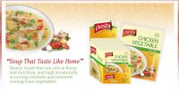 Instant soup powder and chicken powder