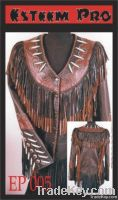 Womens Leather Western Style Jackets