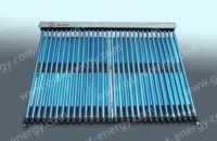 Heat-pipe vacuum tubes solar collector stainless  steel/collector syst