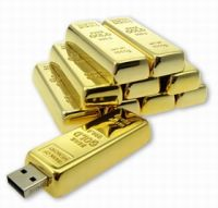 Usb Flash Disk, Gold Bar Usb Stick, Gold Bar Usb Drive, Metal Usb Flash