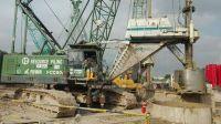 FUWA 80t lattice boom crawler crane