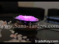 Salt Iron Bowl USB Lamp