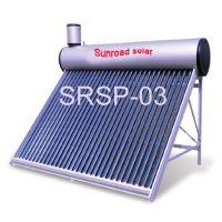 Pre-heated pressurized solar water heater