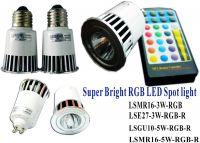 RGB LED Spot light