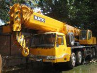 used Kato NK-550VR truck crane