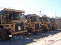 CAT 769c dump truck