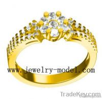 Jewelry Gold Mountings, Gold Ring Settings, Gold Models