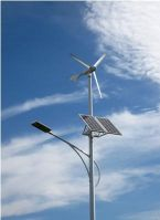 Wind and Solar Hybrid Street Lighting