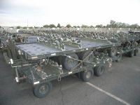 Scrap Aluminum Trailers With Axles