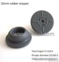 32mm Butyl Rubber Stopper For Infusion Bottle